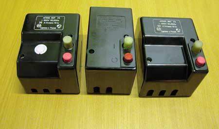 Автоматический выключатель (автомат) АП 50