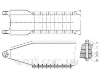 Амортизатор стрелы экскаватора ЭКГ-5