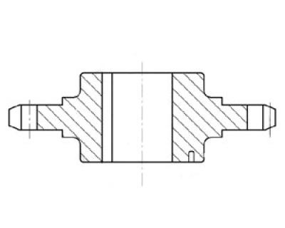 Звездочка на стреловую лебёдку экскаватора ЭКГ-5 чертеж 1080.09.62(запчасти к экскаватору ЭКГ-5)