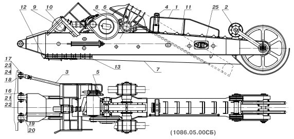стрела 1086.05.00 экг-5 схема