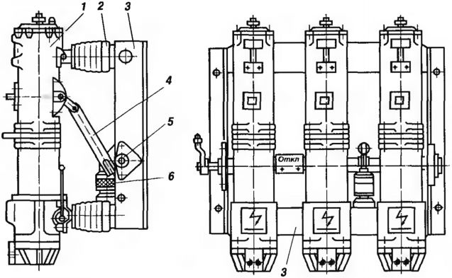 Выключатель масляный ВМП-10-630