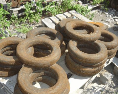 кольца упряжи ковша ЭШ 6-45