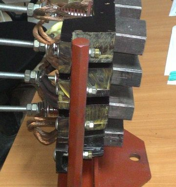 щеточный механизм на экскаватор Э 2503