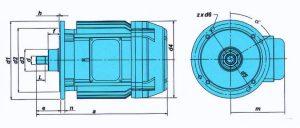 Электродвигатель подъема КГ II 2714-30/6