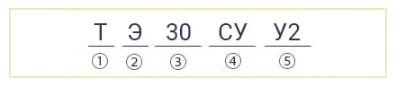 Гидротолкатели ТЭ-30 расшифровка