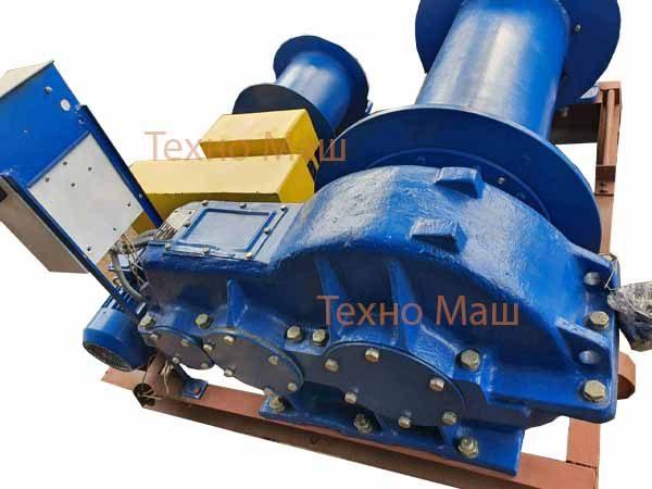 Лебедка маневровая ТЛ-8Б