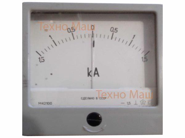 Амперметр М42100 (1500-0-1500В)