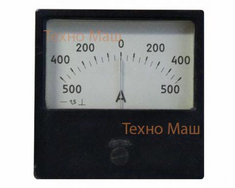 Амперметр М42100 (500-0-500В)
