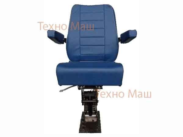 Кресло оператора (сиденье водителя) антивибрационное поворотное КАП-2B