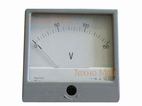 Вольтметр М42100 (0-150В)
